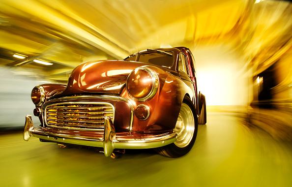 Collector's Car「Customised Morris Minor Van」:写真・画像(9)[壁紙.com]