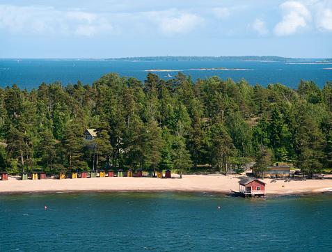Changing Cubicle「Finnish beach and islands」:スマホ壁紙(17)