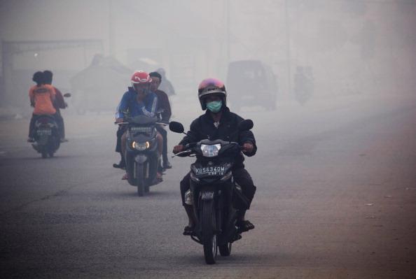 Fisherman「Haze Covers Pontianak, Indonesia」:写真・画像(3)[壁紙.com]