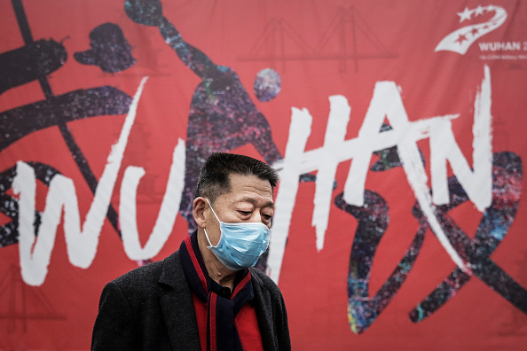Street「Coronavirus Pneumonia Outbreaks In China」:写真・画像(2)[壁紙.com]