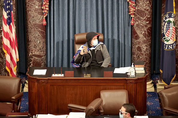 Congress「Congress Holds Joint Session To Ratify 2020 Presidential Election」:写真・画像(13)[壁紙.com]