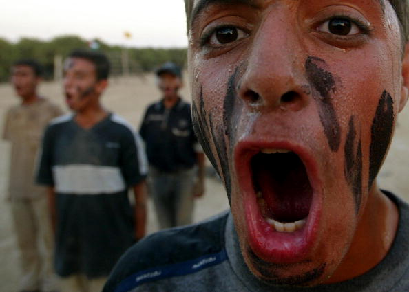 Adult「Young Palestinians Train For Jenin Martyrs Brigade」:写真・画像(14)[壁紙.com]