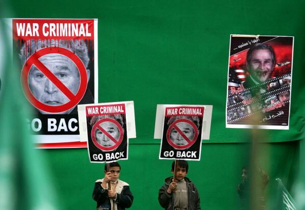 Support「Hamas Protest Against Bush's Middle East Visit」:写真・画像(5)[壁紙.com]