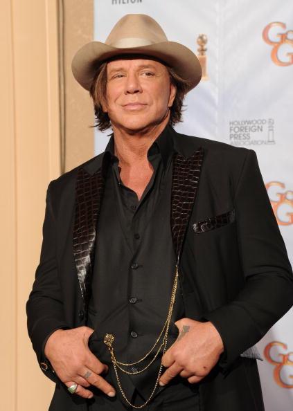ミッキー・ローク「67th Annual Golden Globe Awards - Press Room」:写真・画像(1)[壁紙.com]