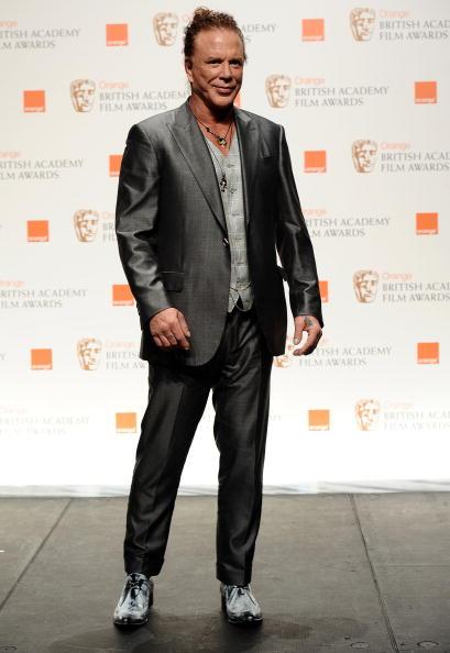 ミッキー・ローク「Orange British Academy Film Awards 2010 - Winners Boards」:写真・画像(7)[壁紙.com]