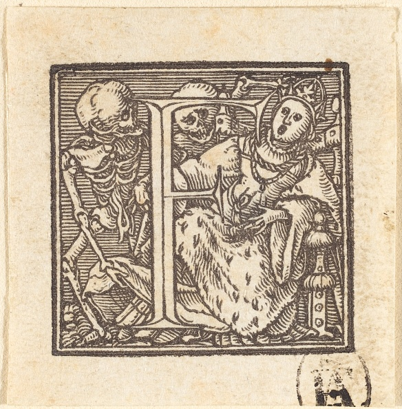 F「Letter F. Creator: Hans Holbein The Younger.」:写真・画像(2)[壁紙.com]