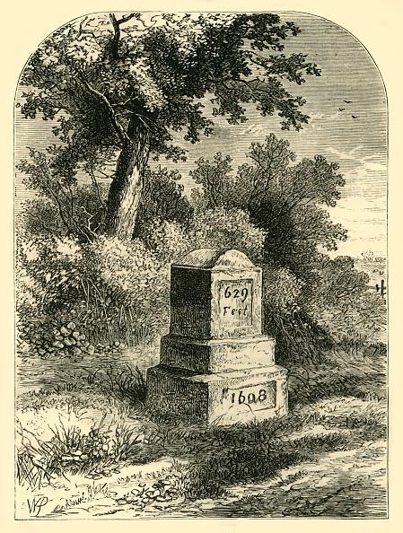 Circa 14th Century「Whittingtons Stone In 1820」:写真・画像(0)[壁紙.com]