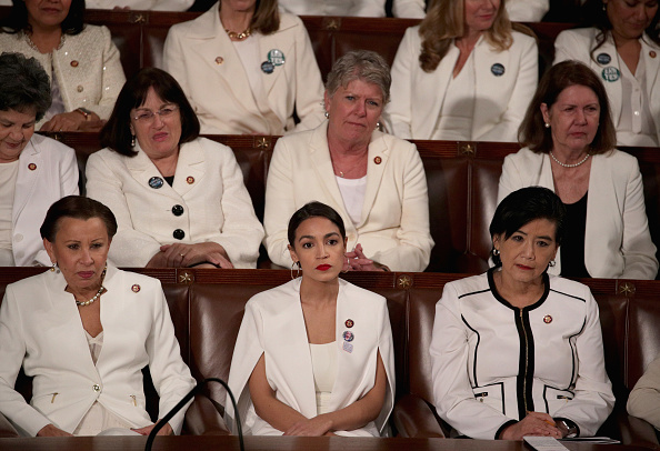 Alexandria Ocasio-Cortez「President Trump Delivers State Of The Union Address To Joint Session Of Congress」:写真・画像(9)[壁紙.com]