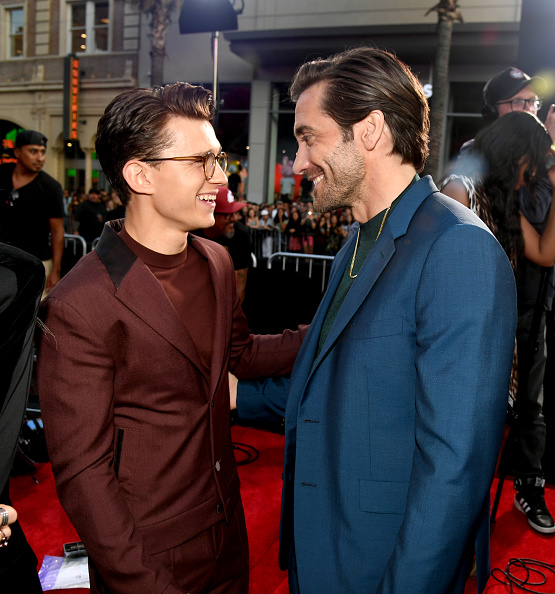 """Jake Gyllenhaal「Premiere Of Sony Pictures' """"Spider-Man Far From Home""""  - Red Carpet」:写真・画像(13)[壁紙.com]"""