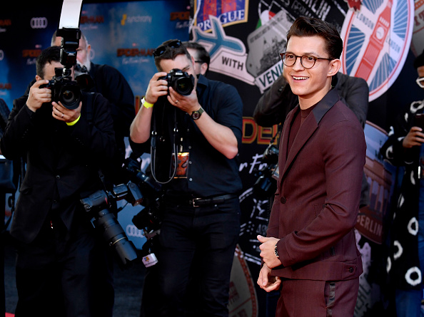 "Frazer Harrison「Premiere Of Sony Pictures' ""Spider-Man Far From Home""  - Arrivals」:写真・画像(4)[壁紙.com]"