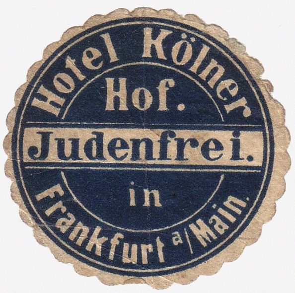 Guest「Mail Sticker For The Guests Of The Hotel Kölner Hof In Frankfurt Am Main」:写真・画像(17)[壁紙.com]