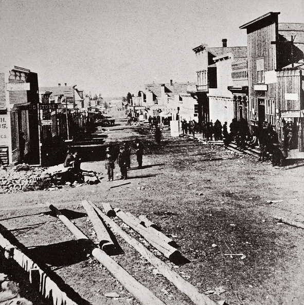 Town「Leadville Colorado USA 1870s」:写真・画像(18)[壁紙.com]