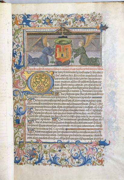 "Manuscript「Spanish Translation Of Saint Augustines ""City Of God"",」:写真・画像(3)[壁紙.com]"