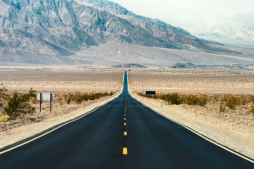 Depression - Land Feature「Road Trip in USA - Death Valley」:スマホ壁紙(18)