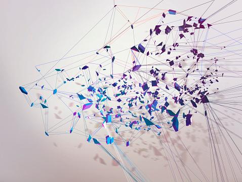 Connection「Lines」:スマホ壁紙(5)