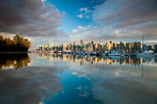 Vancouver - Canada「Vancouver BC cityscape」:スマホ壁紙(17)