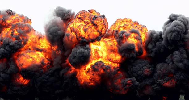 Explosion Fireball.:スマホ壁紙(壁紙.com)