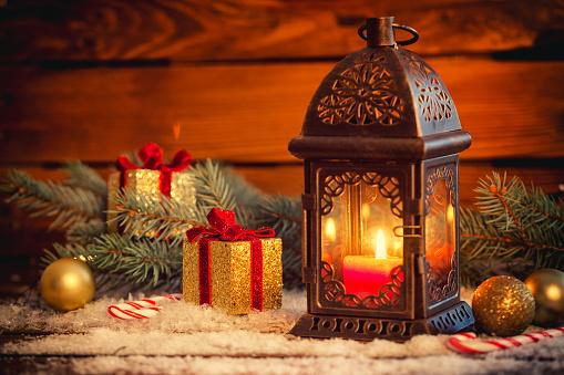 お正月「Christmas lantern」:スマホ壁紙(10)