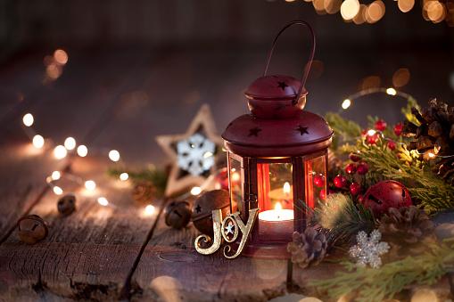 Votive Candle「Christmas Lantern」:スマホ壁紙(15)