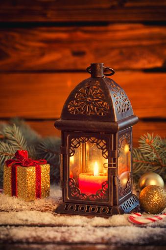 結晶「Christmas lantern」:スマホ壁紙(9)