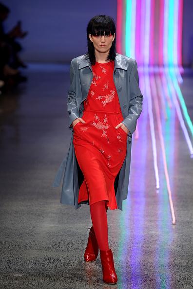 Mid Calf Boot「Kate Sylvester - Runway - New Zealand Fashion Week 2017」:写真・画像(12)[壁紙.com]