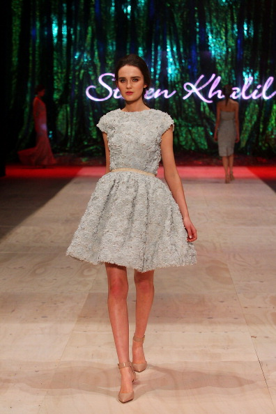 Baby Doll Dress「InStyle Red Carpet Runway - Runway - MBFFS 2013」:写真・画像(8)[壁紙.com]