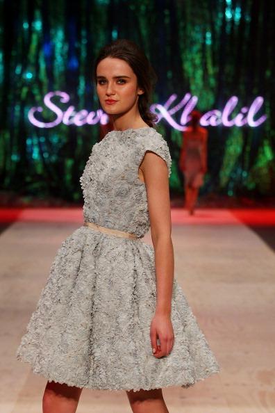Baby Doll Dress「InStyle Red Carpet Runway - Runway - MBFFS 2013」:写真・画像(7)[壁紙.com]
