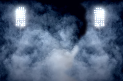 Match - Sport「stadium lights and smoke」:スマホ壁紙(12)