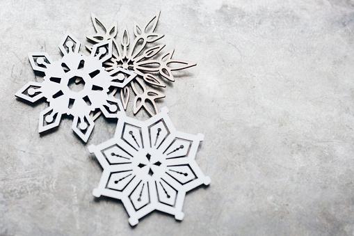 雪の結晶「Close up snow flakes」:スマホ壁紙(17)