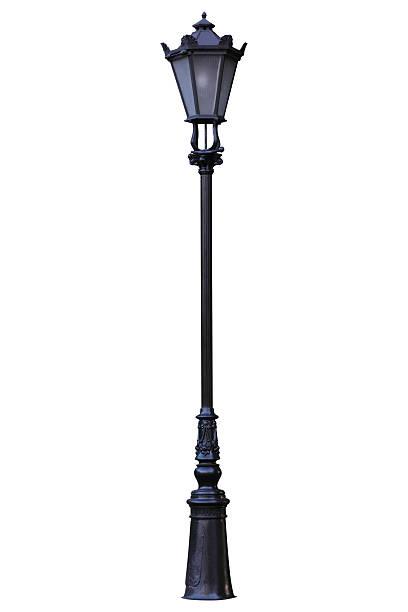 Vintage Street Lamp:スマホ壁紙(壁紙.com)