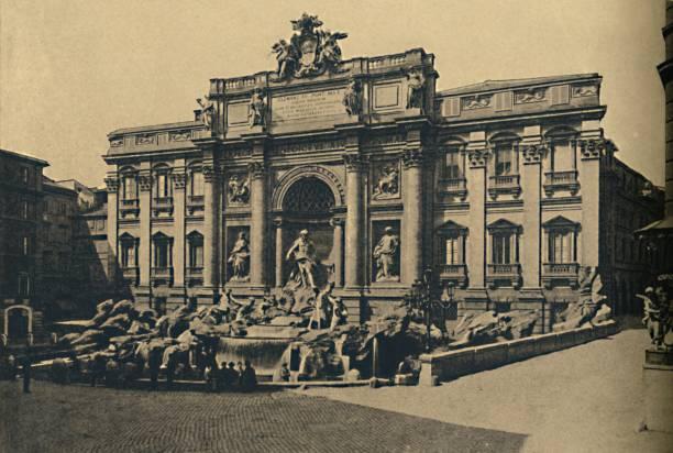 Roma - Fountain Of Trevi 1910:ニュース(壁紙.com)