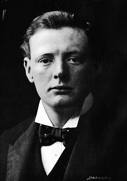 蝶ネクタイ「Winston Churchill around the time he first entered parliament, c1901, (1945)」:写真・画像(16)[壁紙.com]