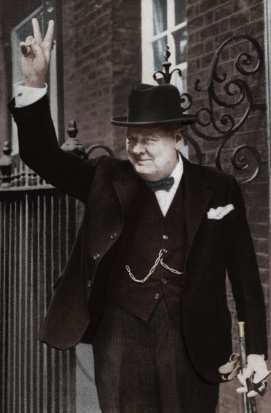 Politician「Winston Churchill - portrait」:写真・画像(8)[壁紙.com]
