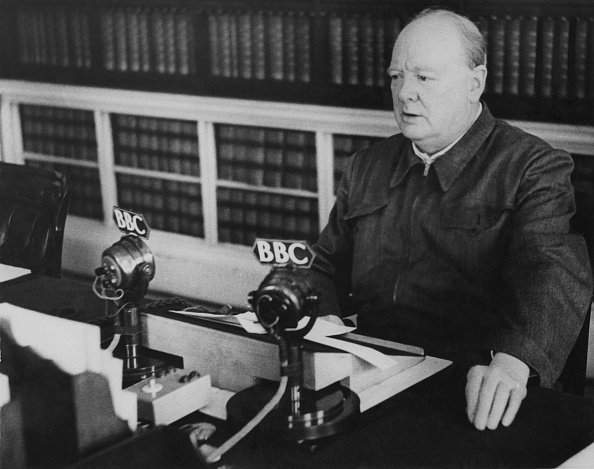 Broadcasting「Churchill's Broadcast」:写真・画像(3)[壁紙.com]