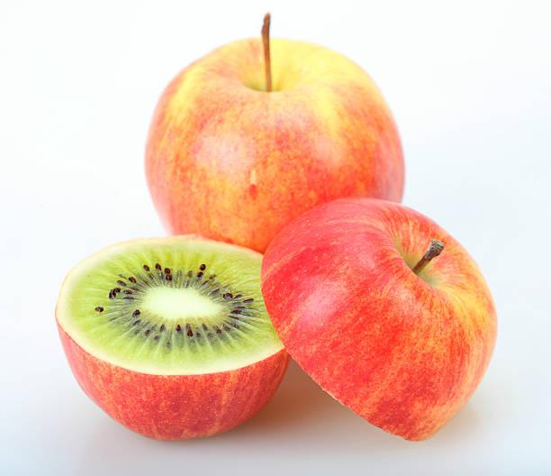Kiwi or apple:スマホ壁紙(壁紙.com)