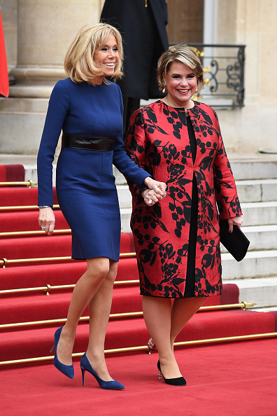 Royal Blue「Official Visit OF Grand-Duc Henri Of Luxembourg and Grande-Duchesse Maria Teresa Of Luxembourg : Day Two」:写真・画像(5)[壁紙.com]
