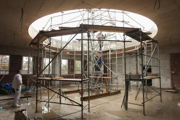Architectural Feature「Khadija Mosque Construction Continues」:写真・画像(11)[壁紙.com]