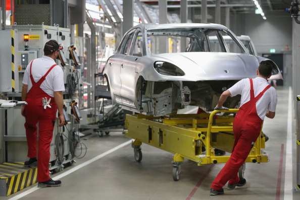 Leipzig - Saxony「Porsche Launches Production Of New Macan」:写真・画像(9)[壁紙.com]