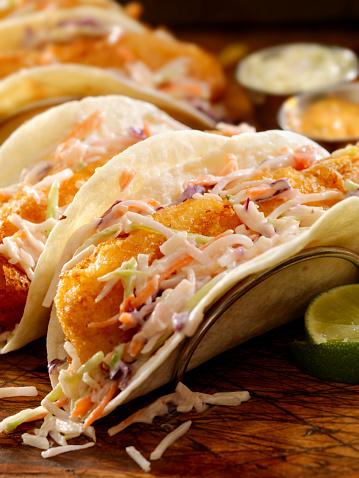Tortilla - Flatbread「Crispy Fish Tacos」:スマホ壁紙(5)