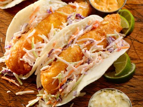 Taco「Crispy Fish Tacos」:スマホ壁紙(9)
