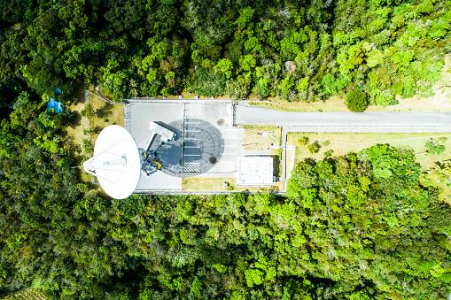Antenna - Aerial「Parabona antenna in the mountains.」:スマホ壁紙(0)