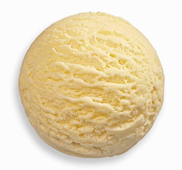 Vanilla ice cream, close-up:スマホ壁紙(壁紙.com)