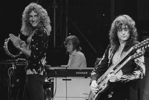 1975年「Led Zeppelin At Earl's Court」:写真・画像(17)[壁紙.com]