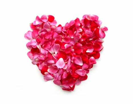 Heart「Rose Petal Heart」:スマホ壁紙(2)
