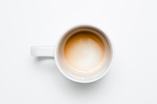 Coffee「Empty coffee cup」:スマホ壁紙(5)