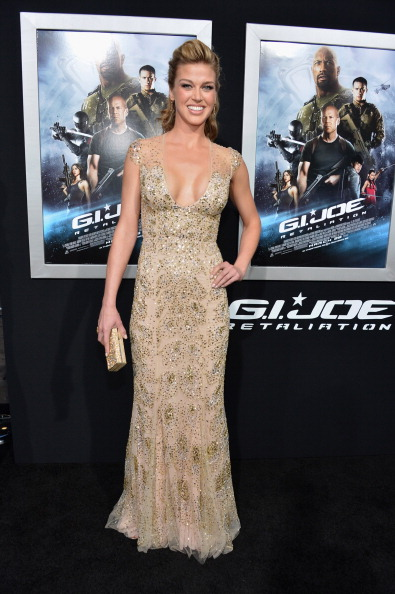 "Nude Colored Dress「Premiere Of Paramount Pictures' ""G.I. Joe: Retaliation"" - Red Carpet」:写真・画像(11)[壁紙.com]"