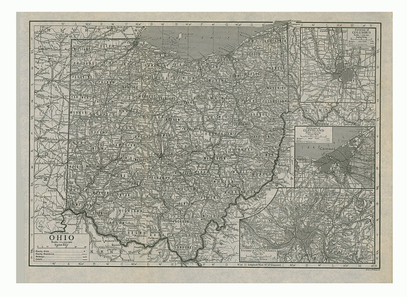Great Lakes「Map Of Ohio」:写真・画像(15)[壁紙.com]