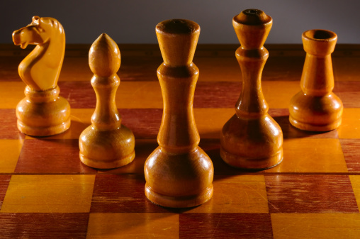 Battle「wooden aged chess set」:スマホ壁紙(9)