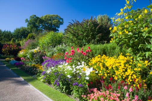 West Sussex「Nymans Garden」:スマホ壁紙(1)