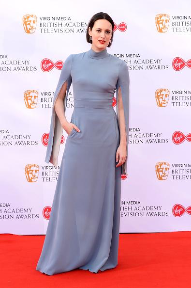 Sleeved Dress「Virgin Media British Academy Television Awards 2019 - Red Carpet Arrivals」:写真・画像(11)[壁紙.com]